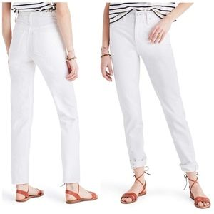 | Madewell | Perfect Summer High Waist Ankle Jeans